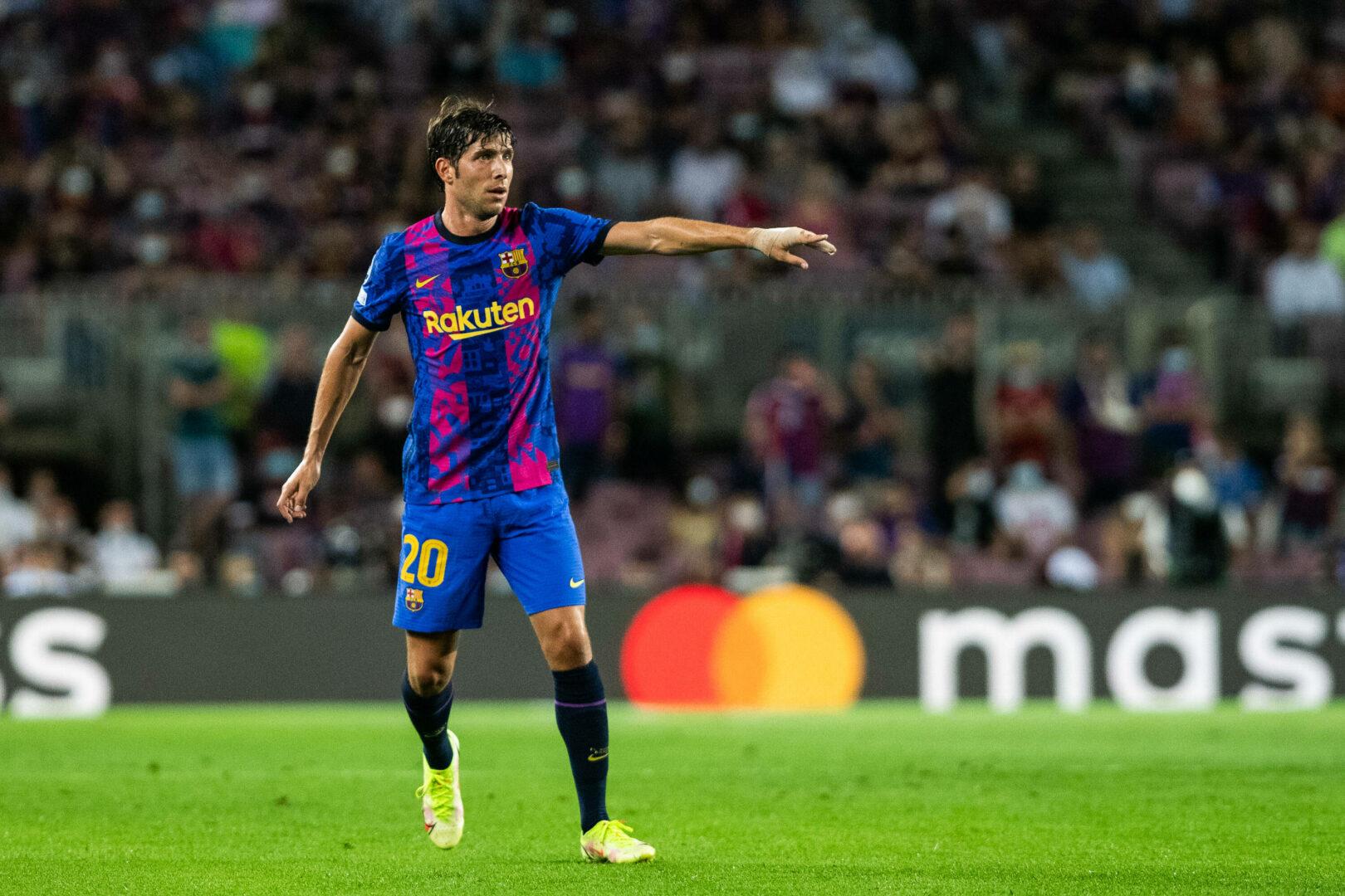 Sergi Roberto (FC Barcelona) dirigiert