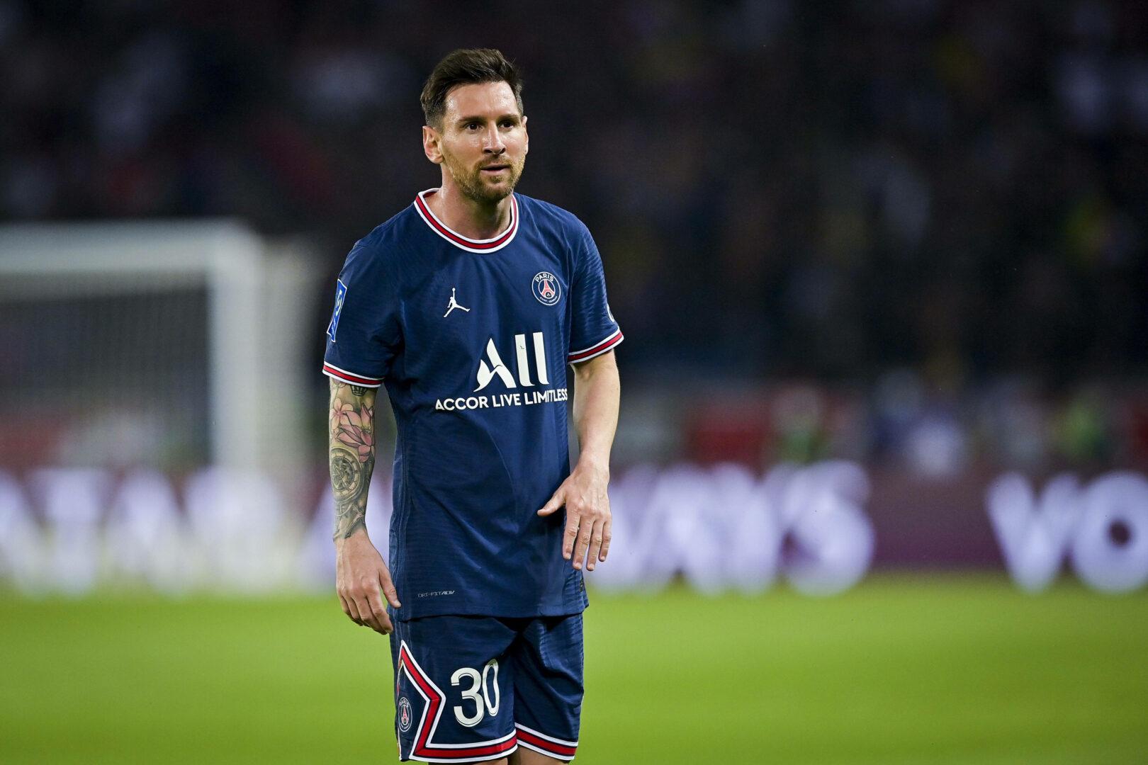 Lionel Messi im PSG-Trikot