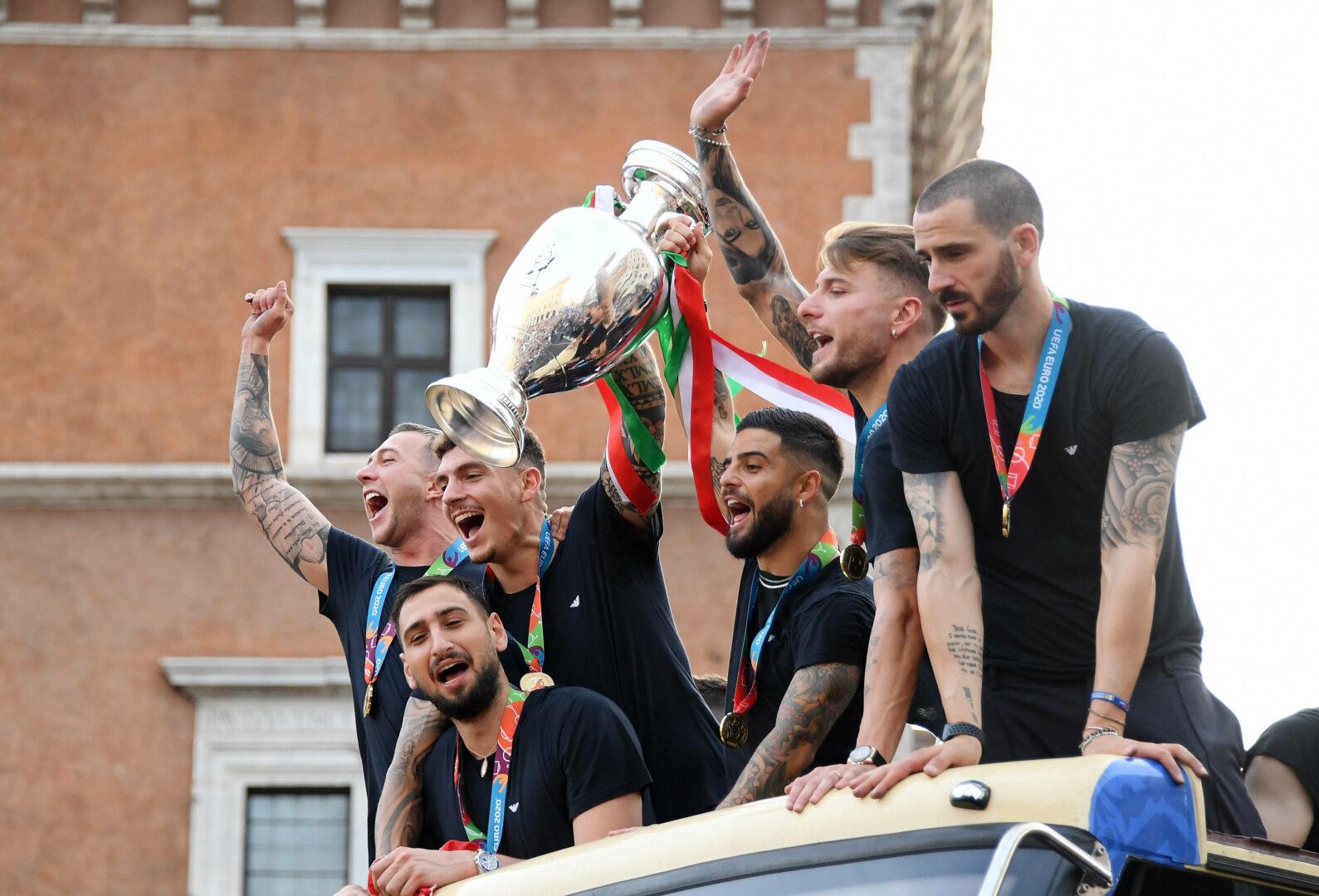 Italien spielt gegen Argentinien