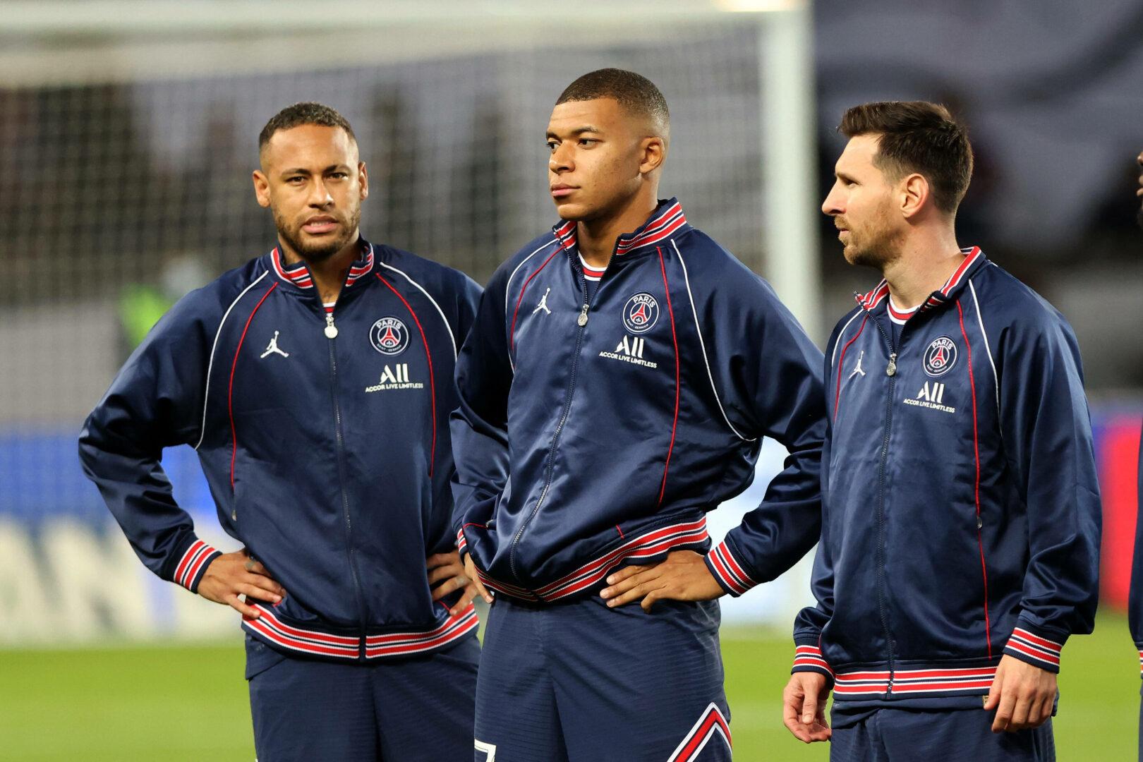 PSG: Trio aus Mbappe Neymar Messi