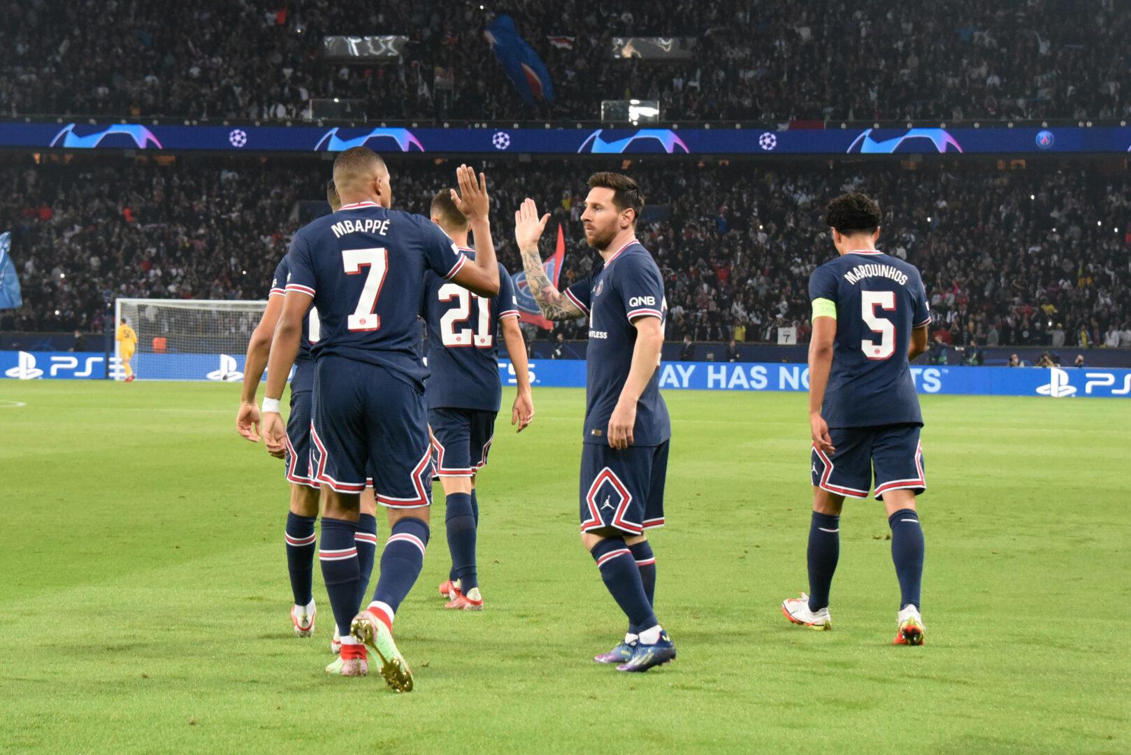Messi PSG Tor