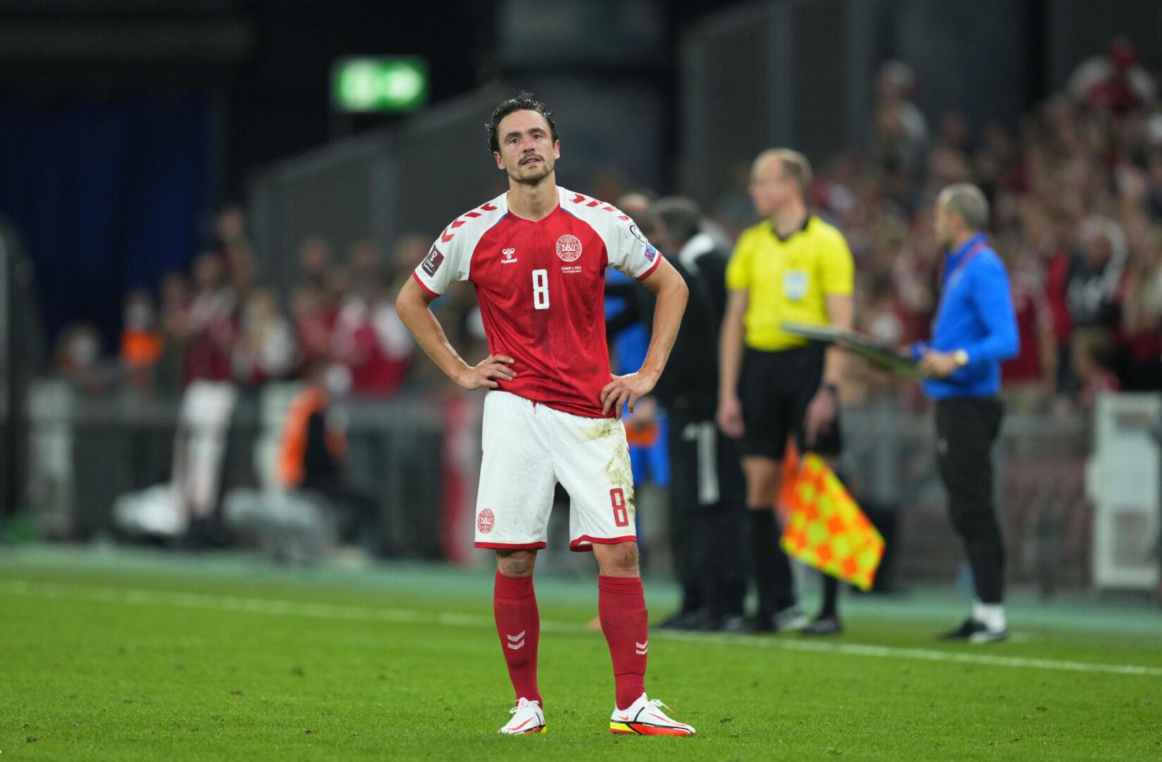 Delaney BVB Dänemark schaut frustriert