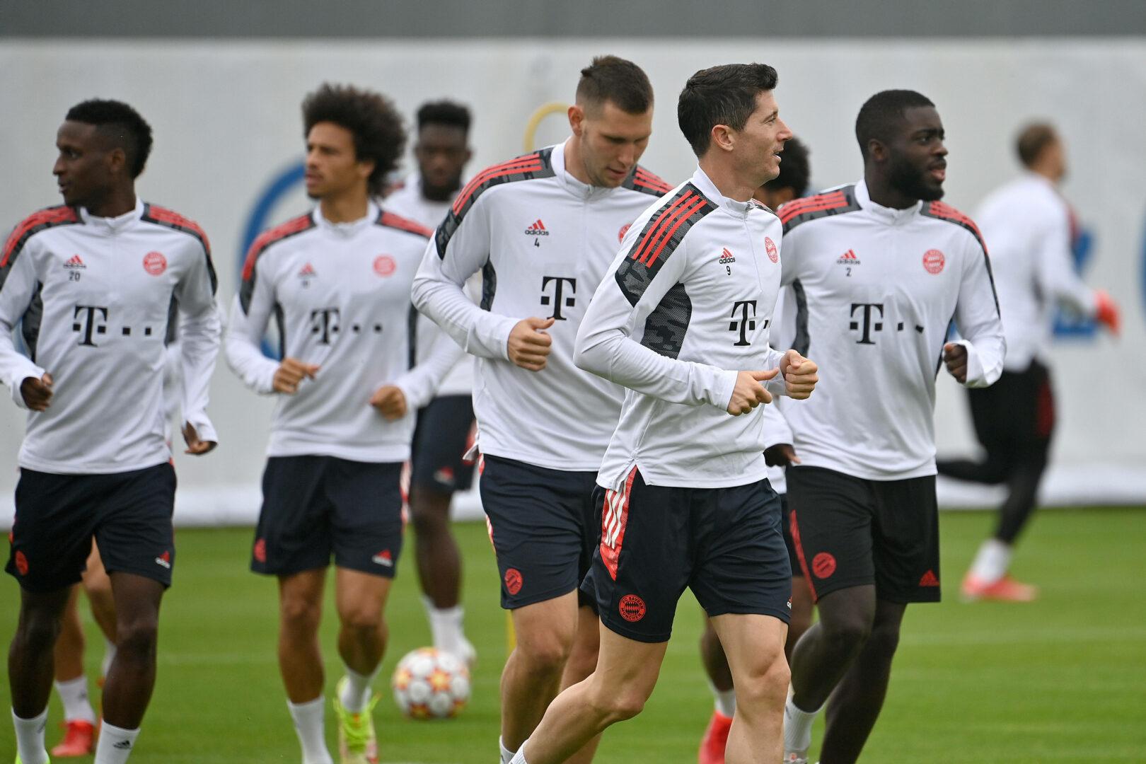 Bayern im Training