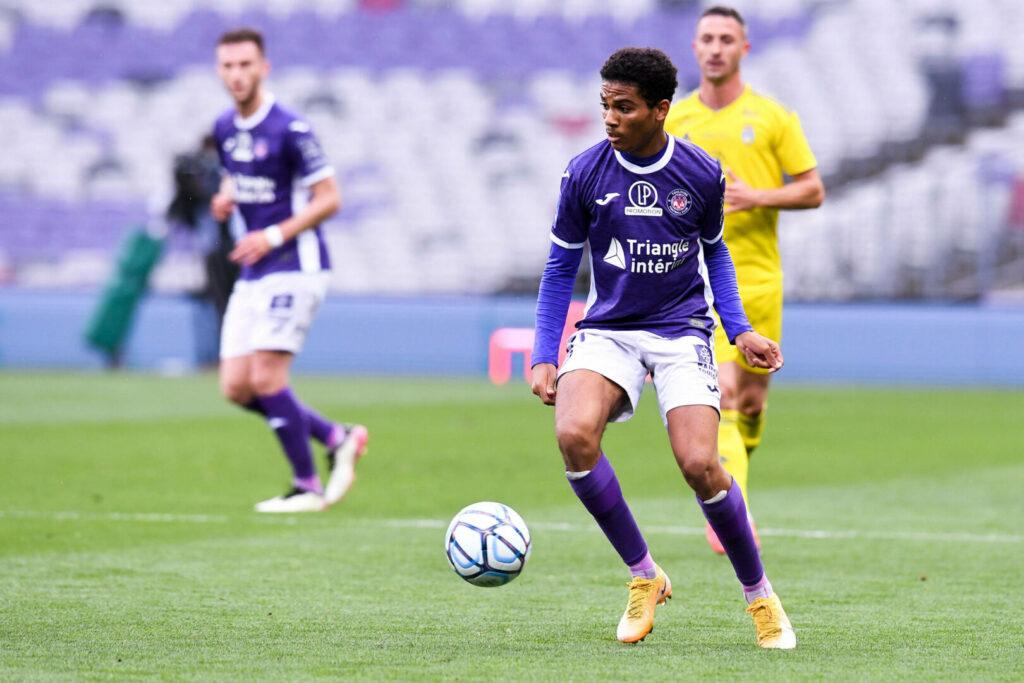Amine Adli noch im Trikot des FC Toulouse