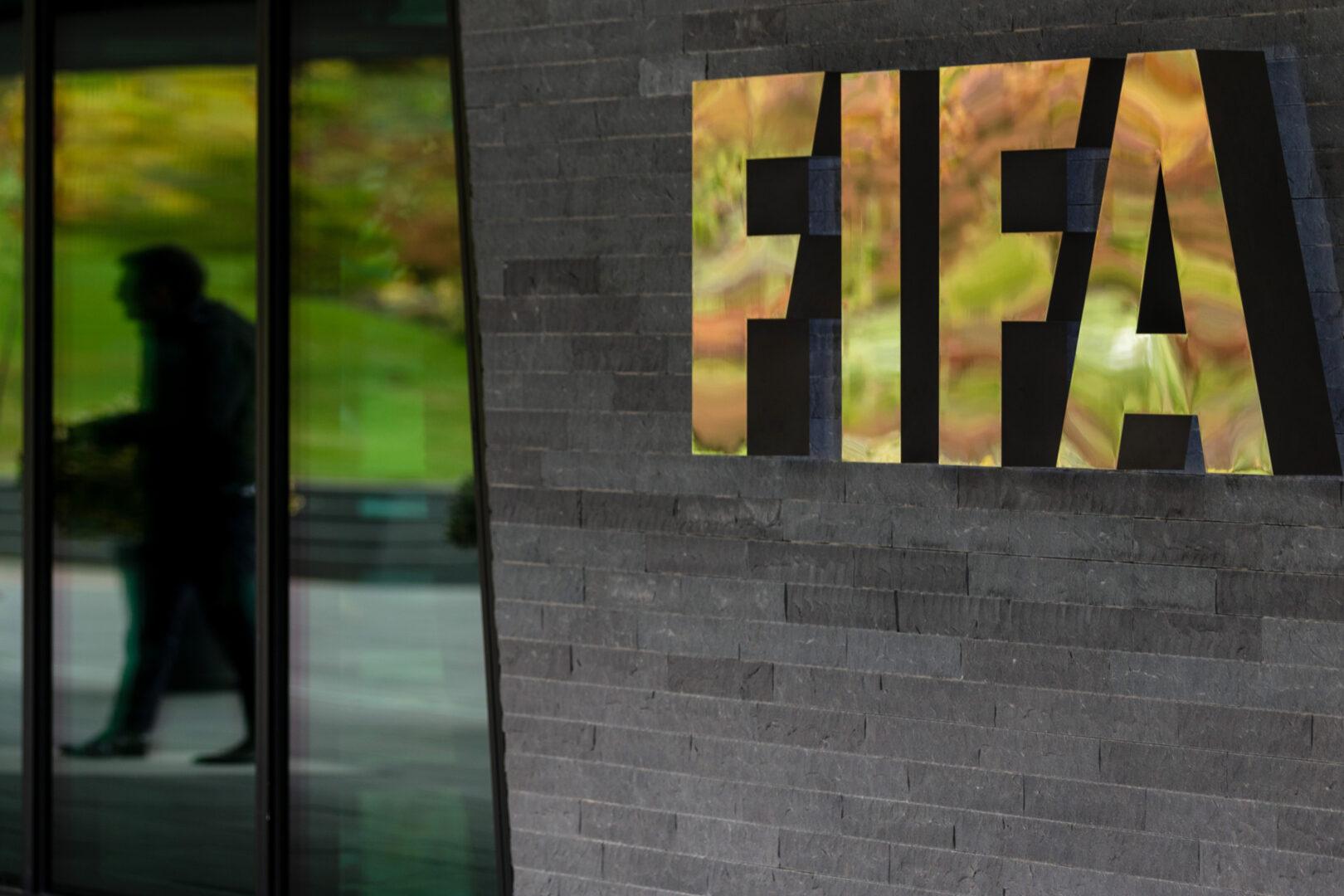 Das Logo der FIFA