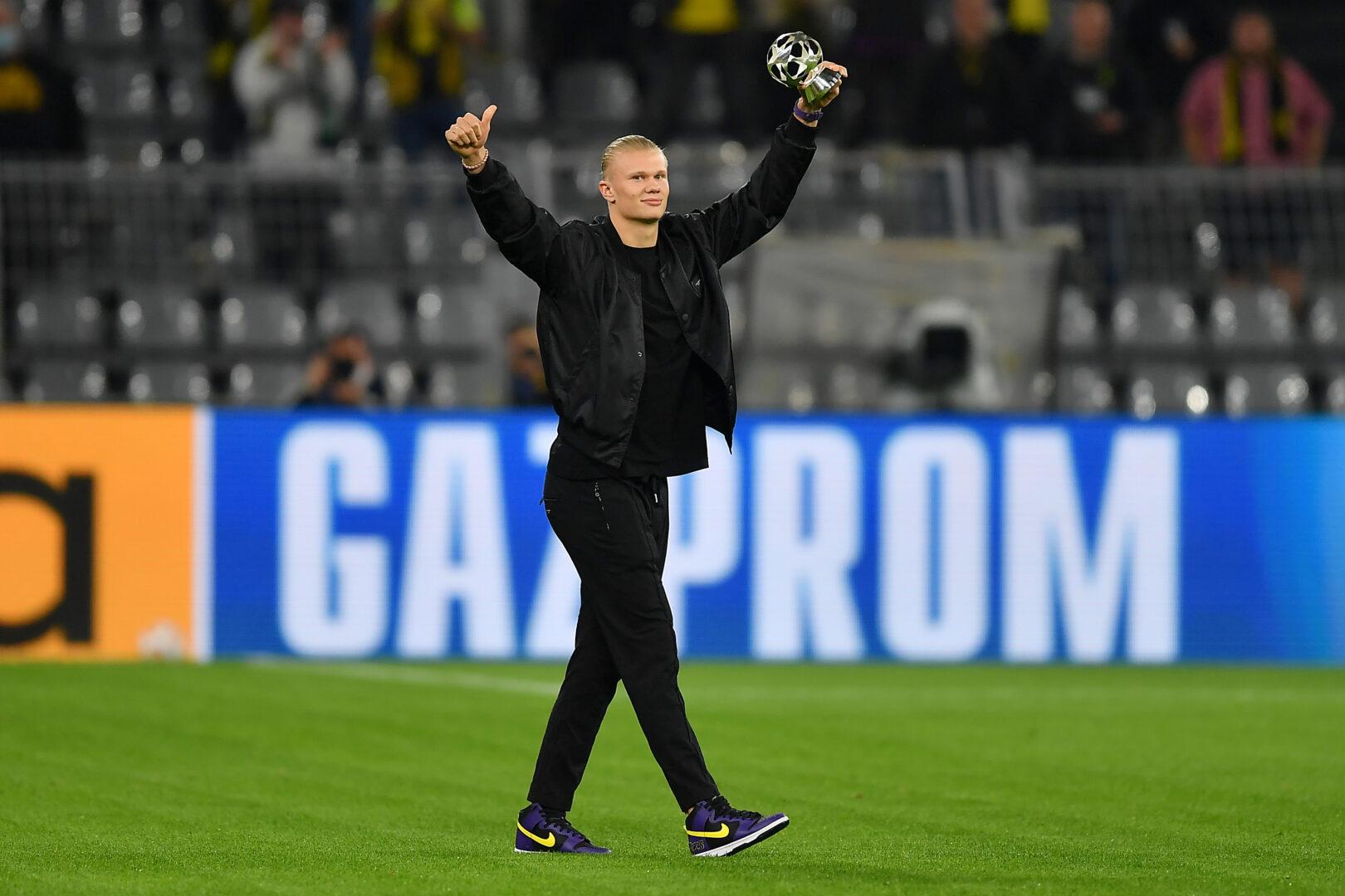 Erling Haaland vor dem Heimspiel des BVB gegen Sporting.