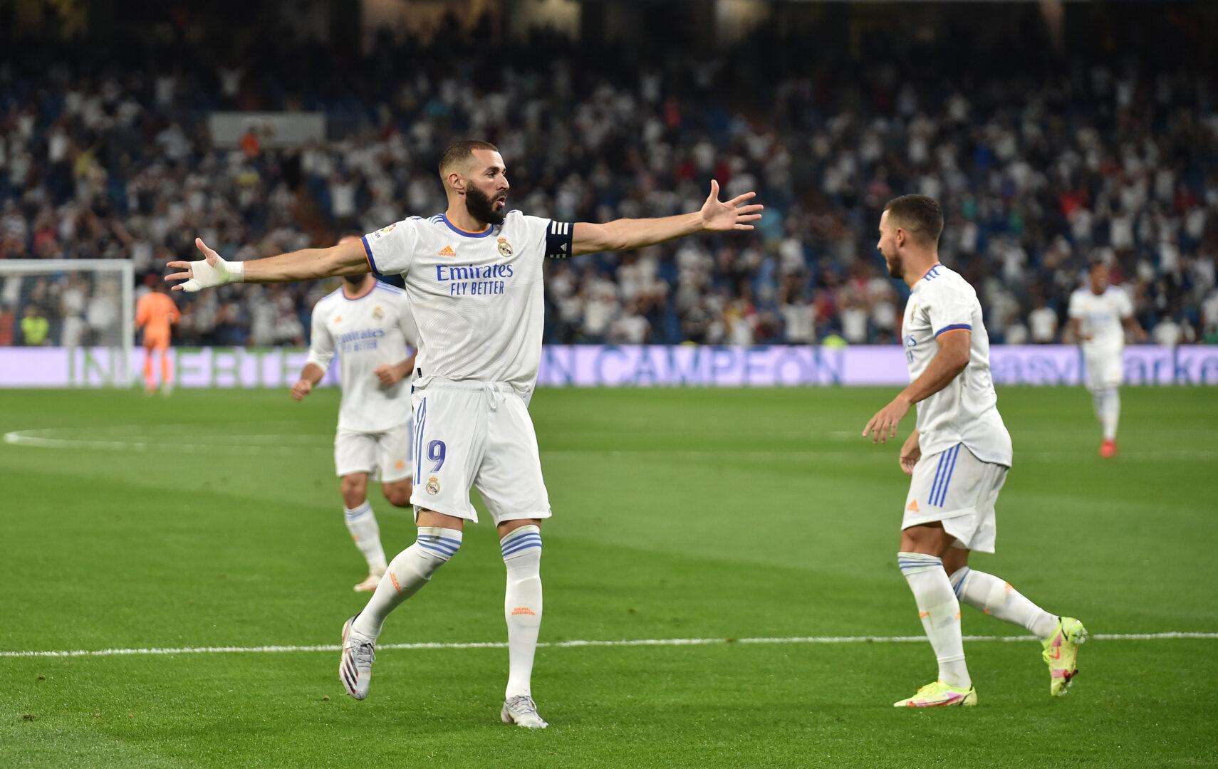 Benzema trifft und jubelt für Real Madrid
