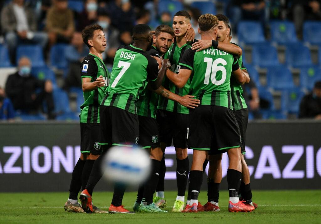Sassuolo trifft und jubelt gegen Inter