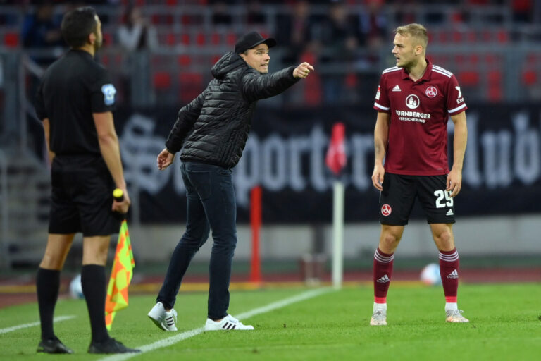 Nullnummer! Nürnberg bleibt auch gegen Hannover trotz Unterzahl ungeschlagen