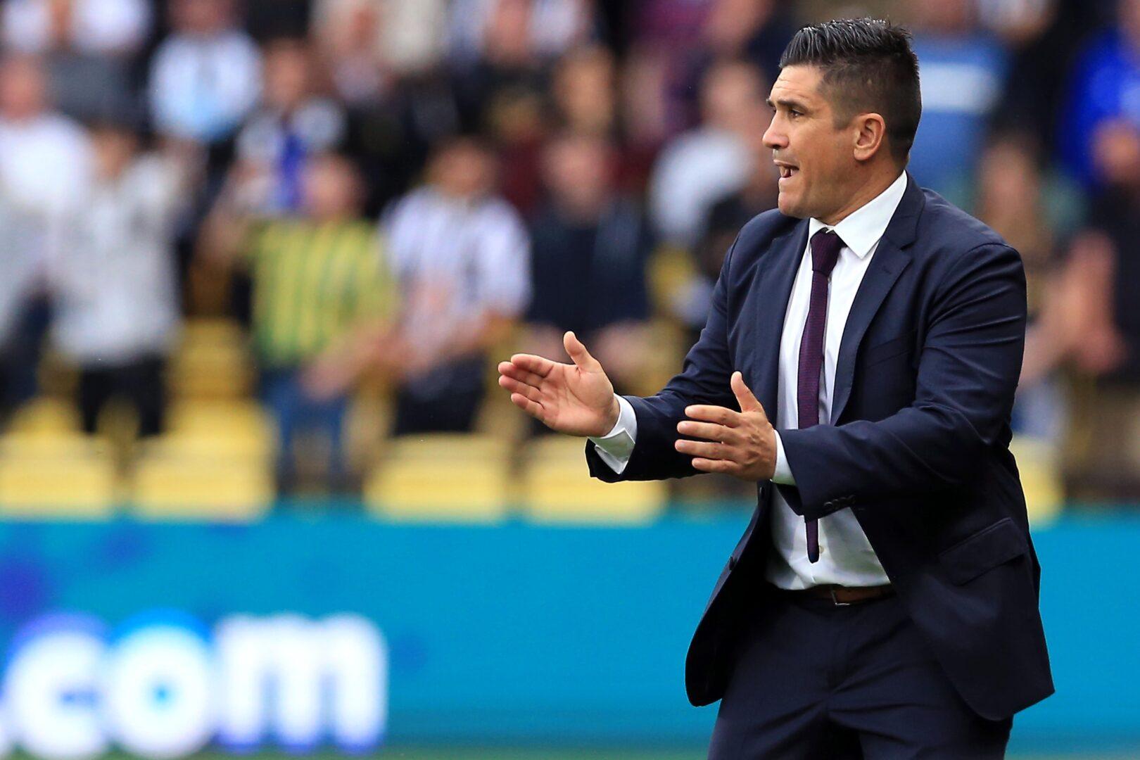 Watford trennt sich von Trainer Xisco