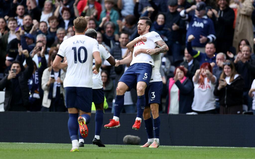 Höjbjerg bringt Tottenham in Führung und jubelt