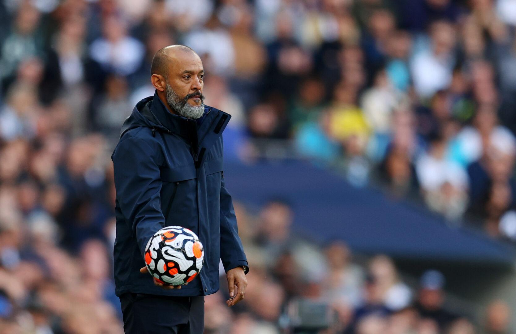 Tottenham: Trainer Nuno Espirito Santo