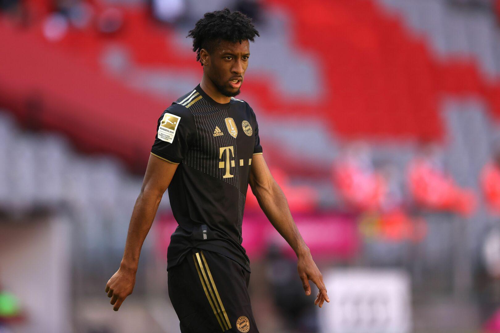 Kingsley Coman im Trikot des FC Bayern München