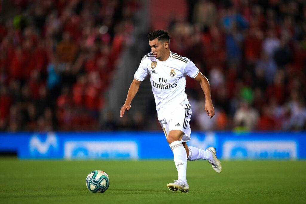 Brahim Diaz im Trikot von Real Madrid