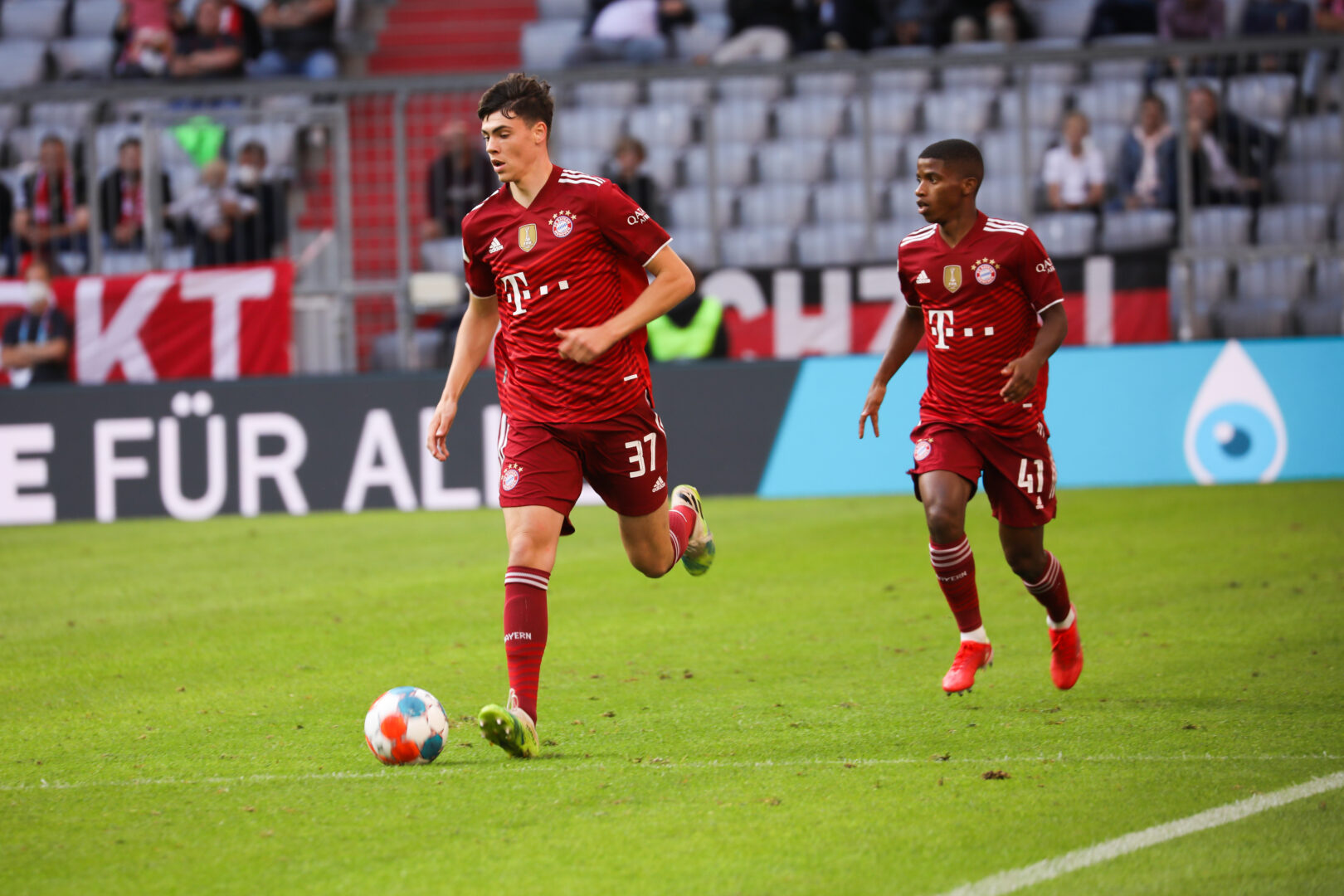 Marcel Wenig, hier im Einsatz bei den Profis des FC Bayern in der Sommer-Vorbereitung