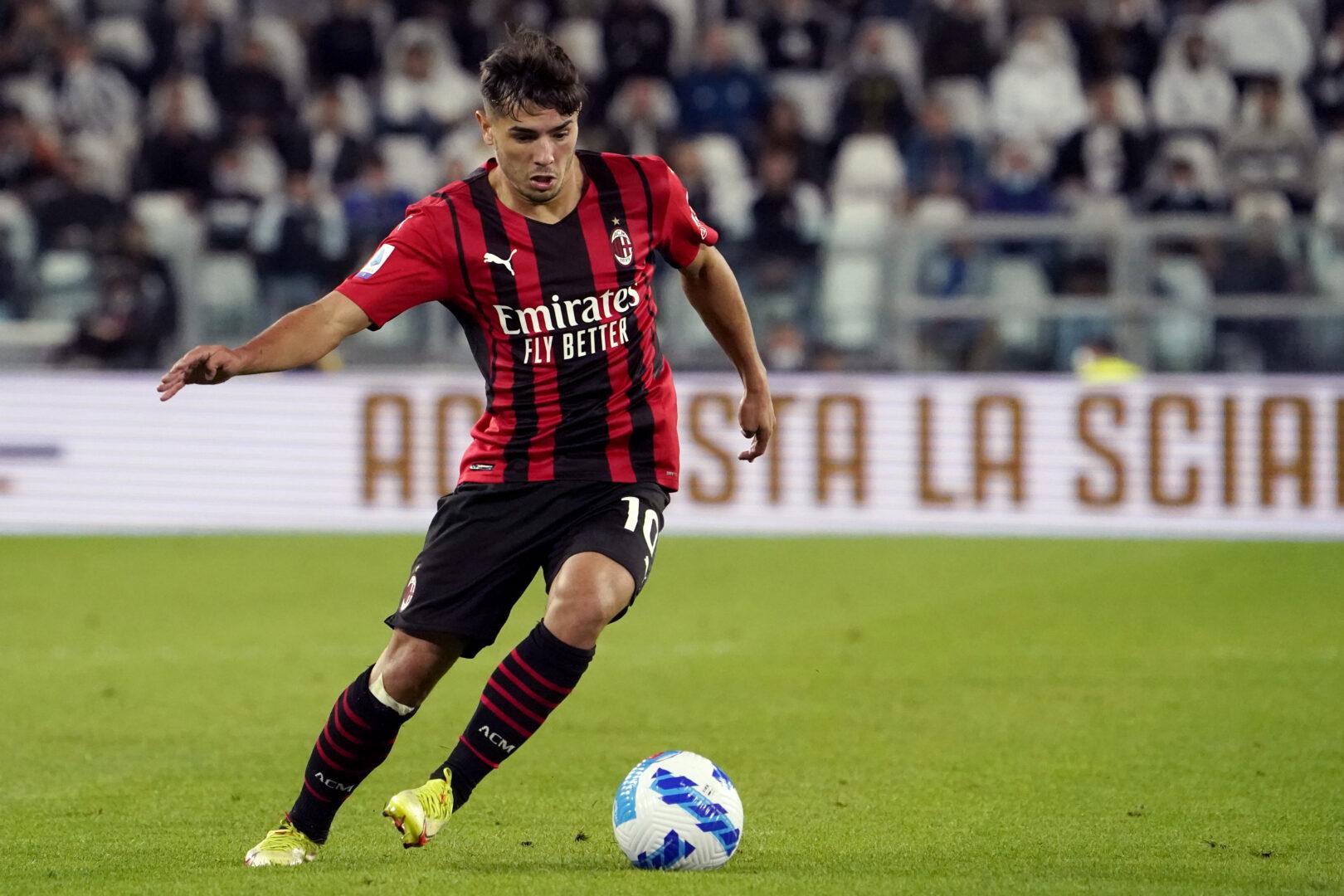 Brahim Diaz für Milan im Duell mit Juventus