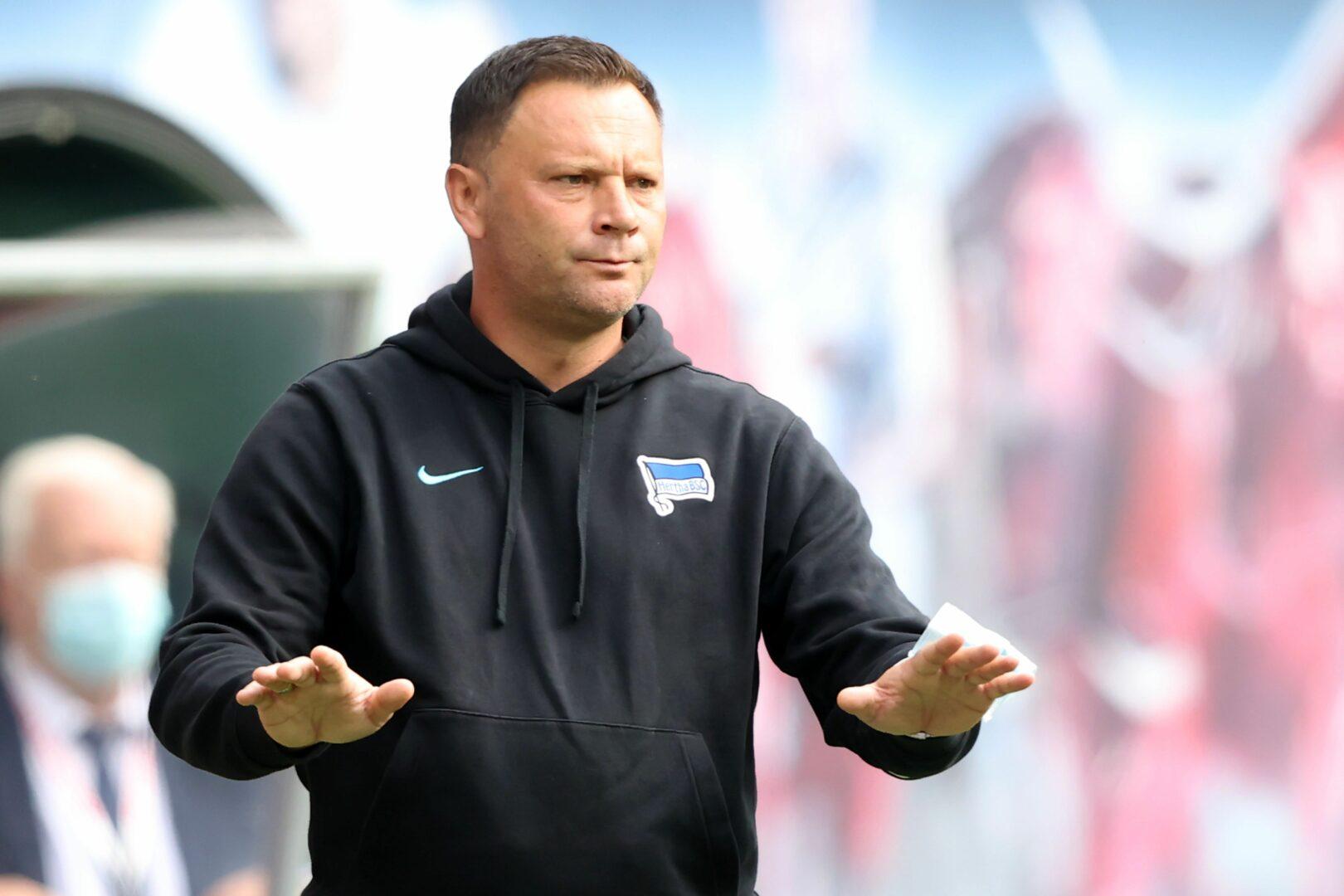 Hertha BSC: Trainer Dardai unter Druck