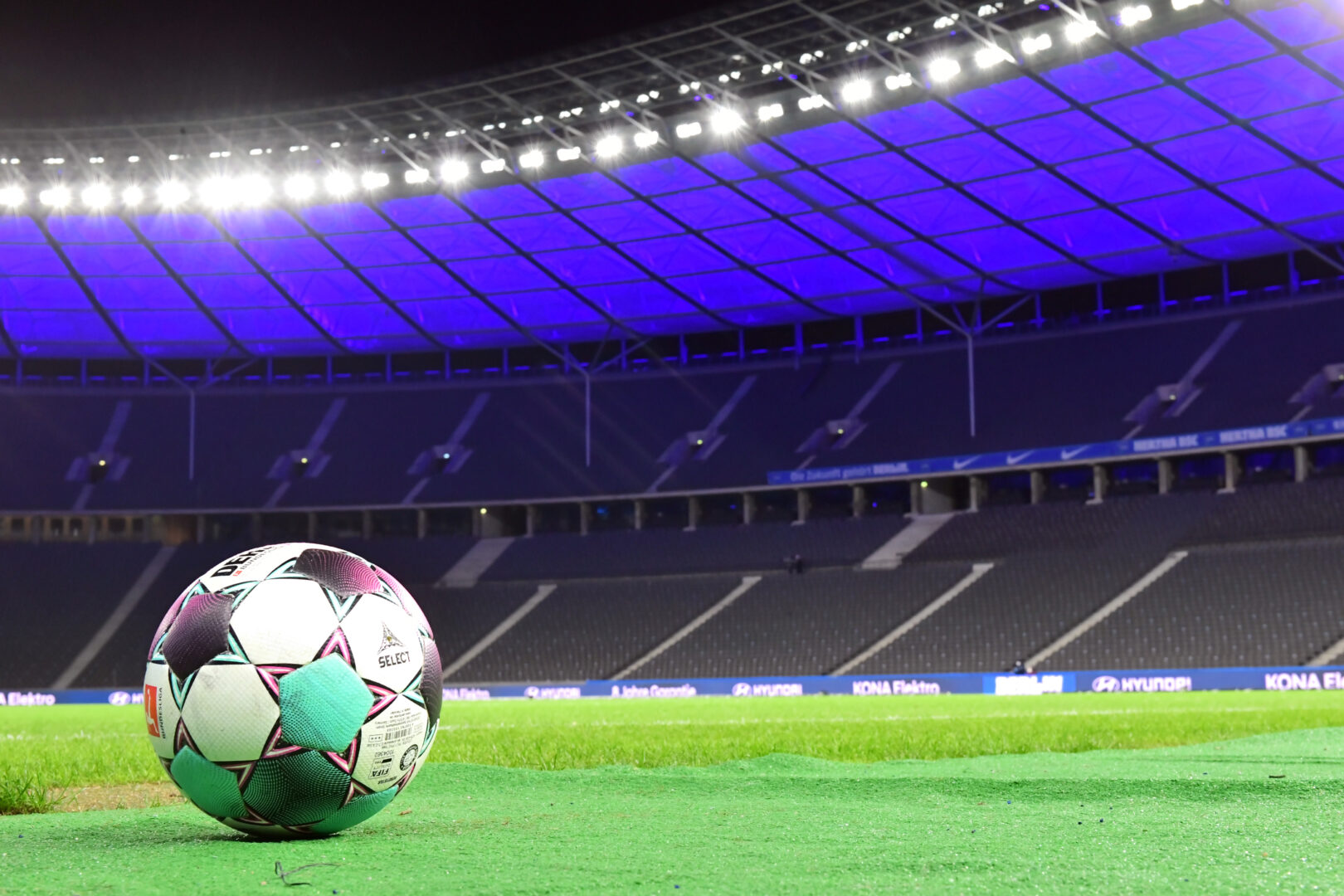 Im Olympiastadion trägt Hertha BSC seine Heimspiele aus.