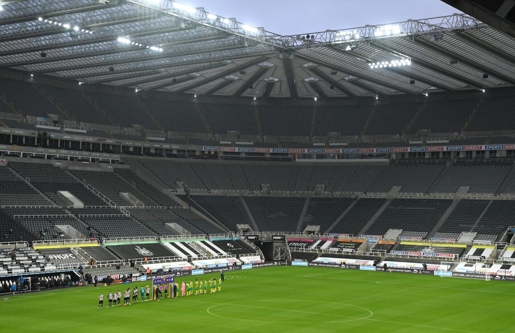 Newcastle United im St. James Park