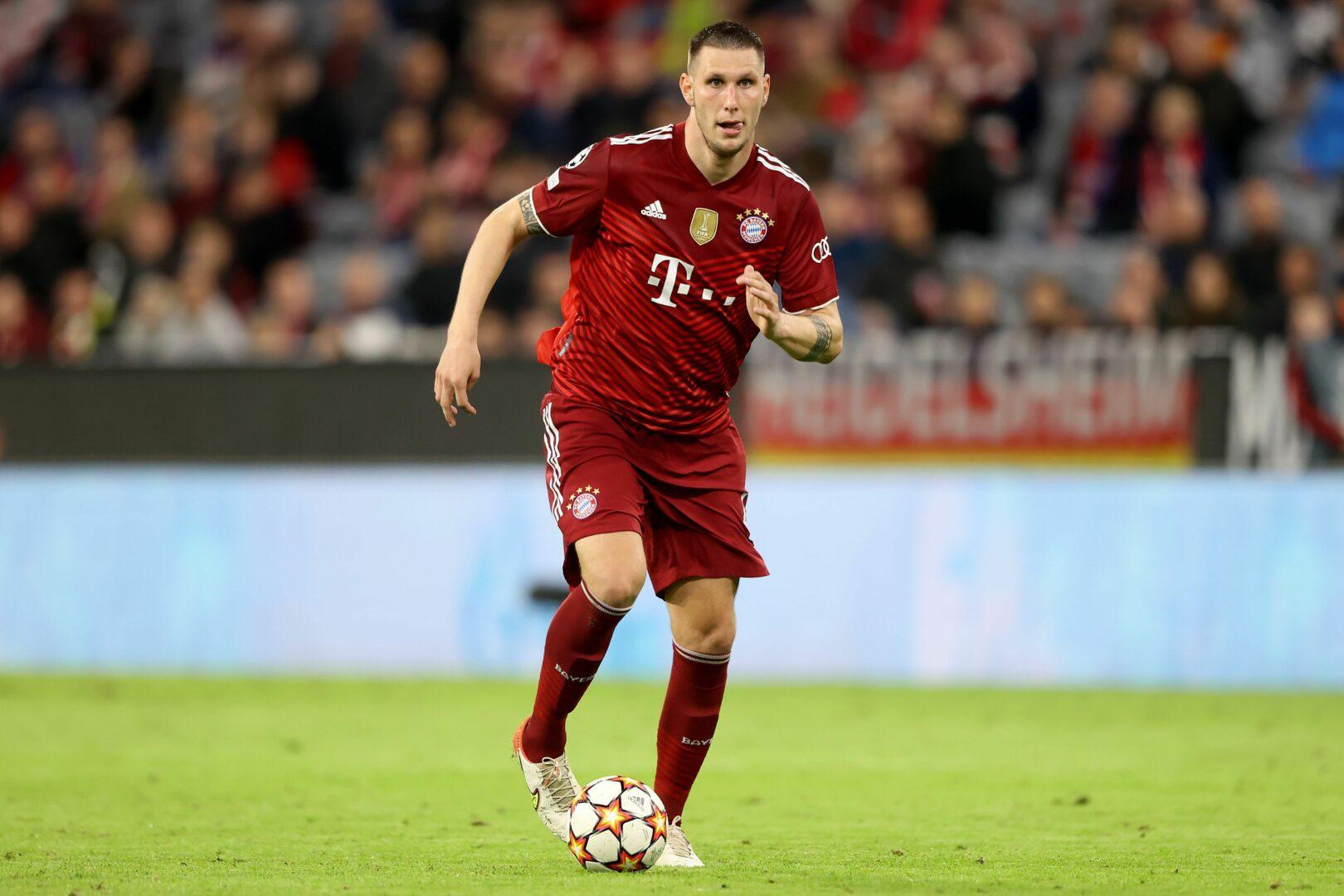 Niklas Süle bei einem Einsatz in der Champions League für den FC Bayern München