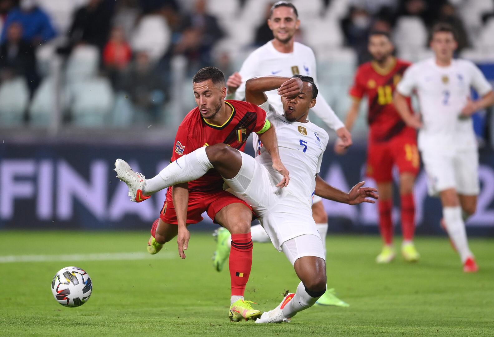 UEFA Nations League: Umkämpftes Spiel zwischen Belgien und Frankreich