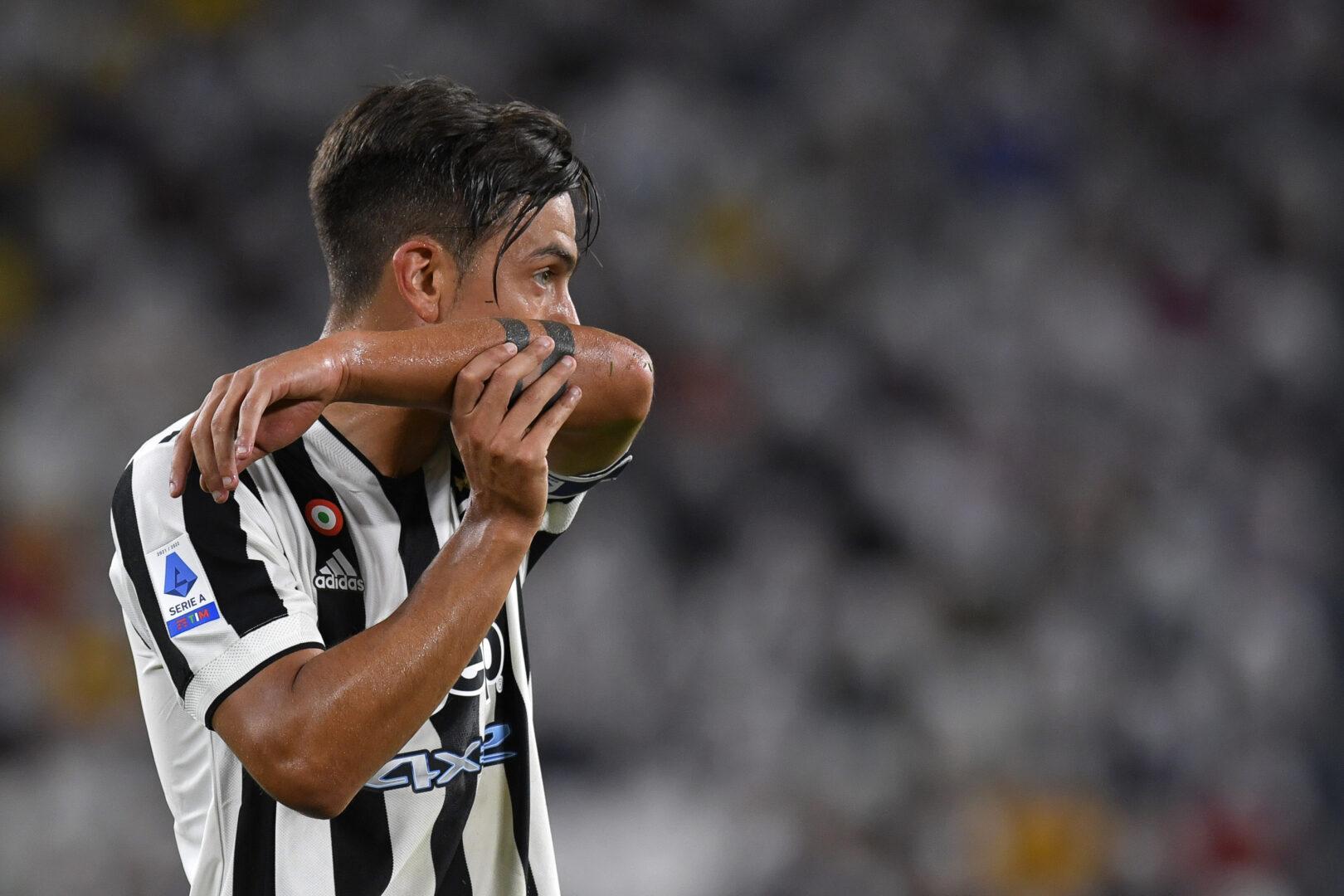 Dybala im Trikot von Juventus