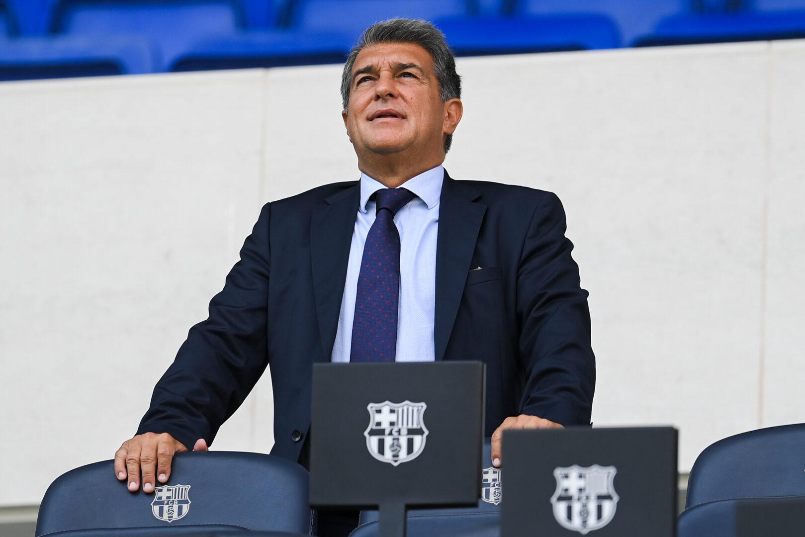 FC Barcelonas Präsident Joan Laporta
