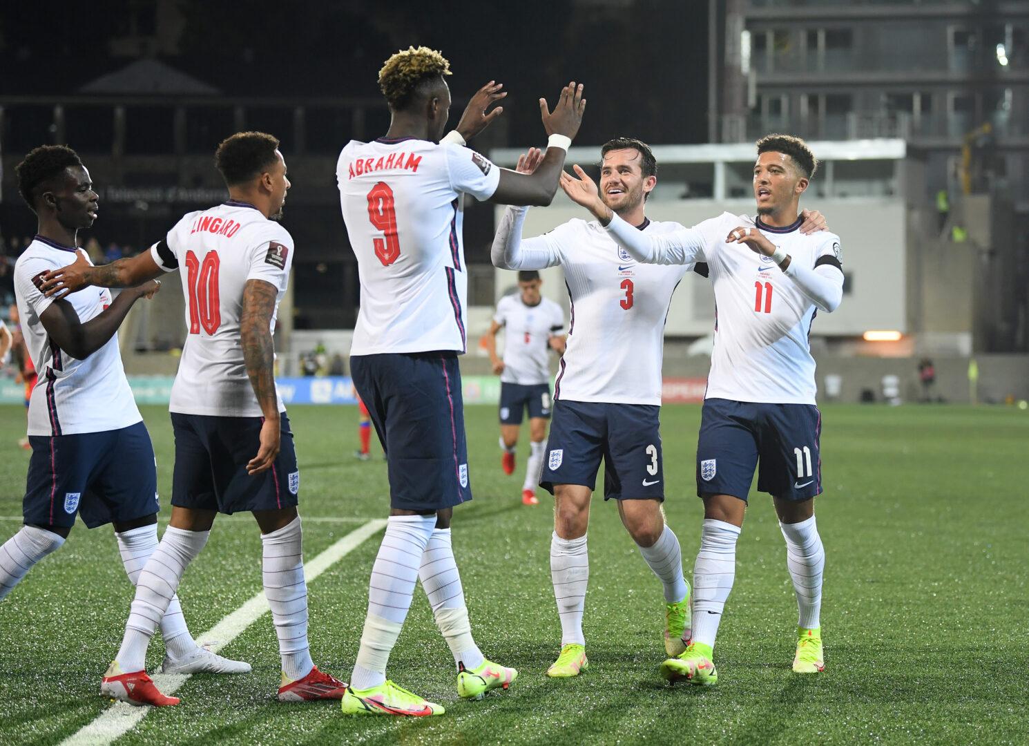 England gewann in der WM-Qualifikation problemlos in Andorra.