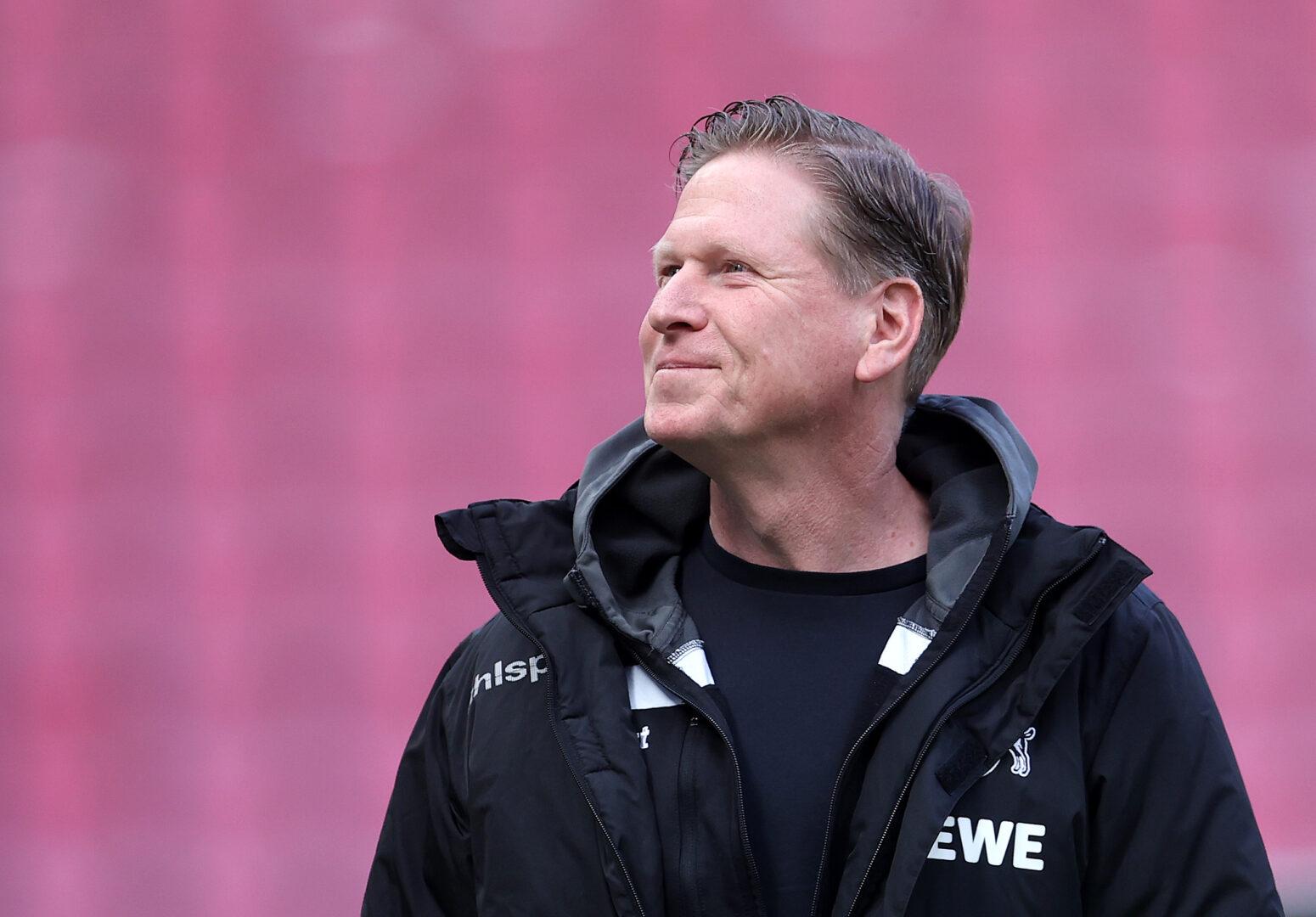 Markus Gisdol noch als Trainer des 1. FC Köln