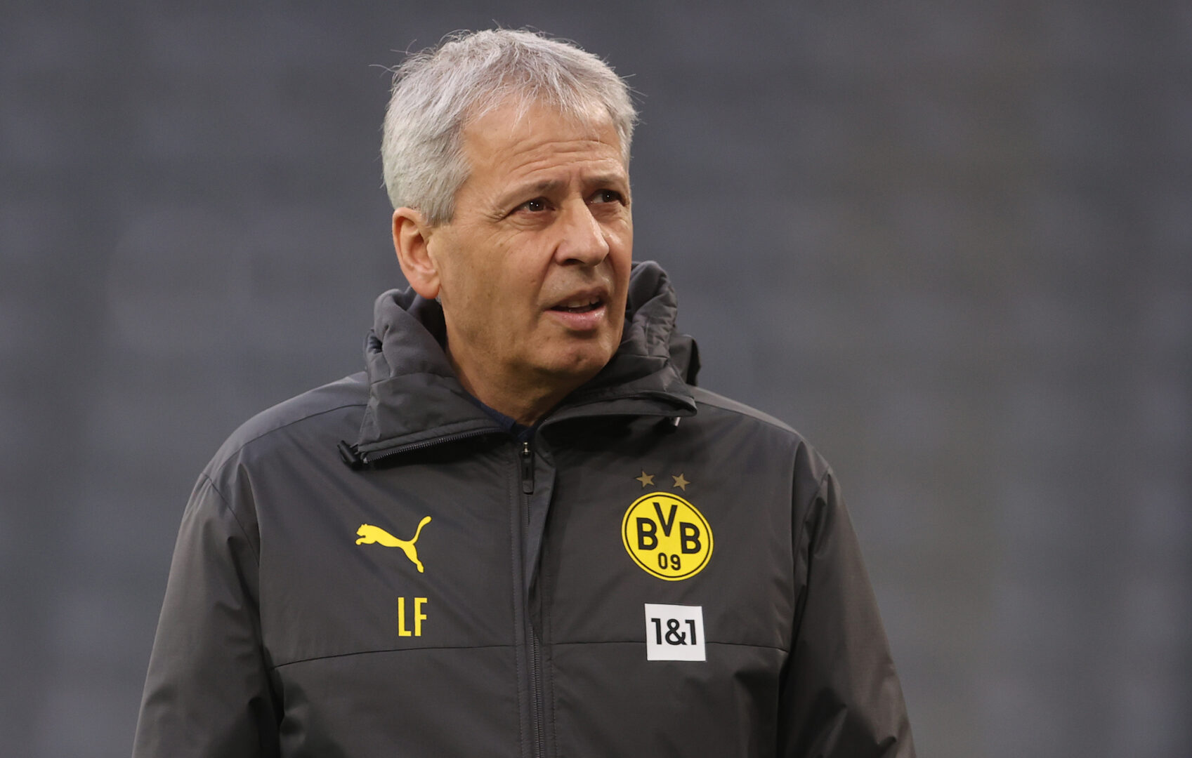 Lucien Favre, hier noch in BVB-Montur