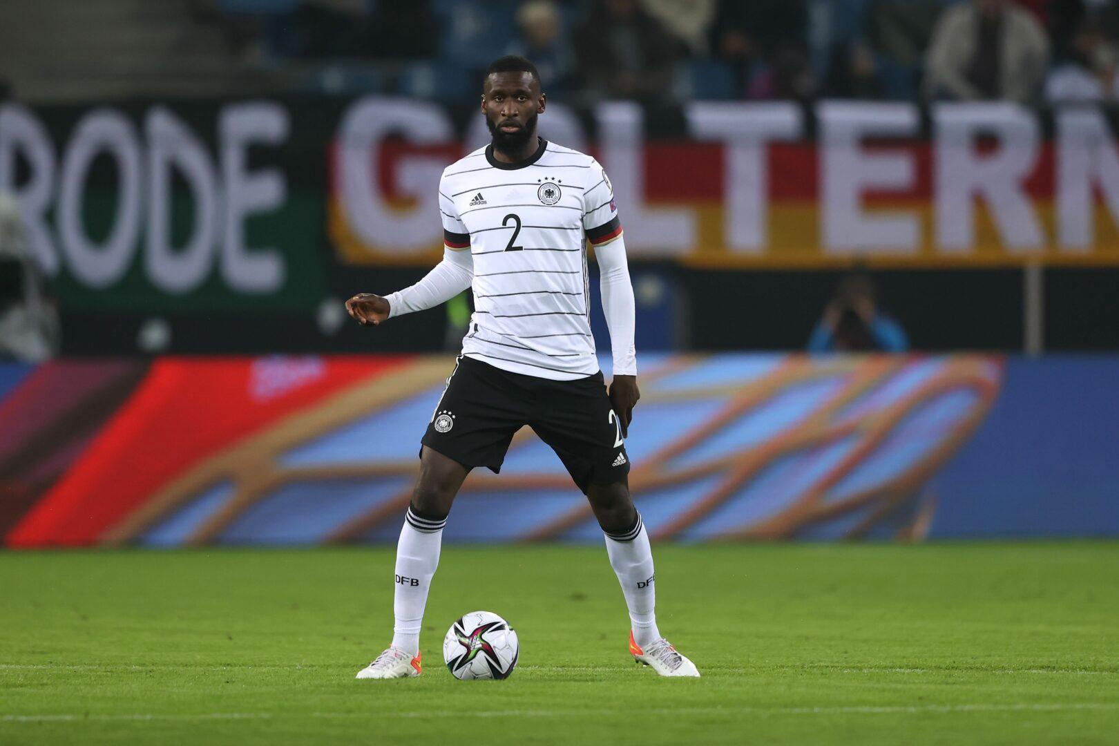 Antonio Rüdiger, hier im Einsatz für die DFB-Elf.