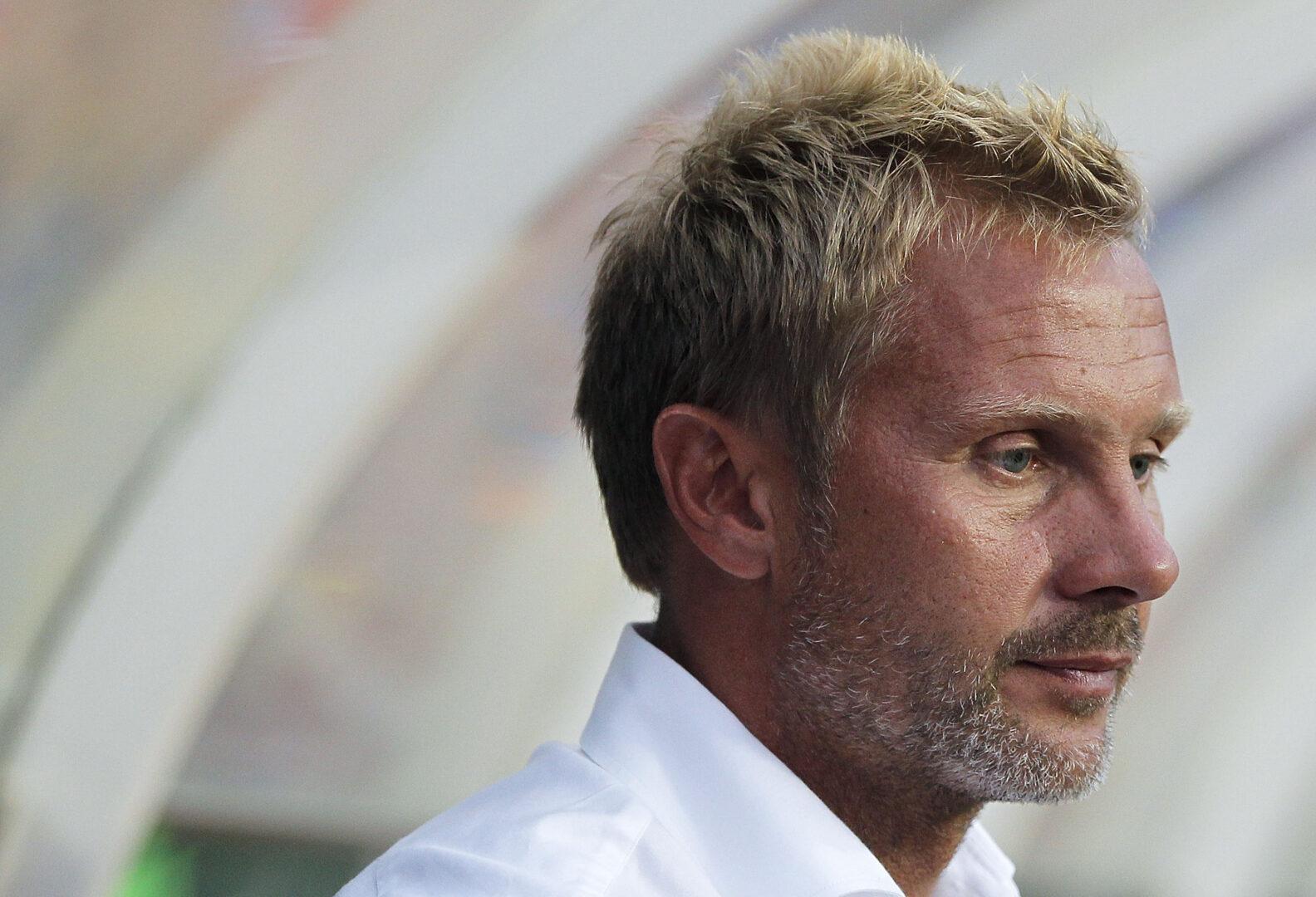 Thorsten Fink als Trainer des Hamburger SV.