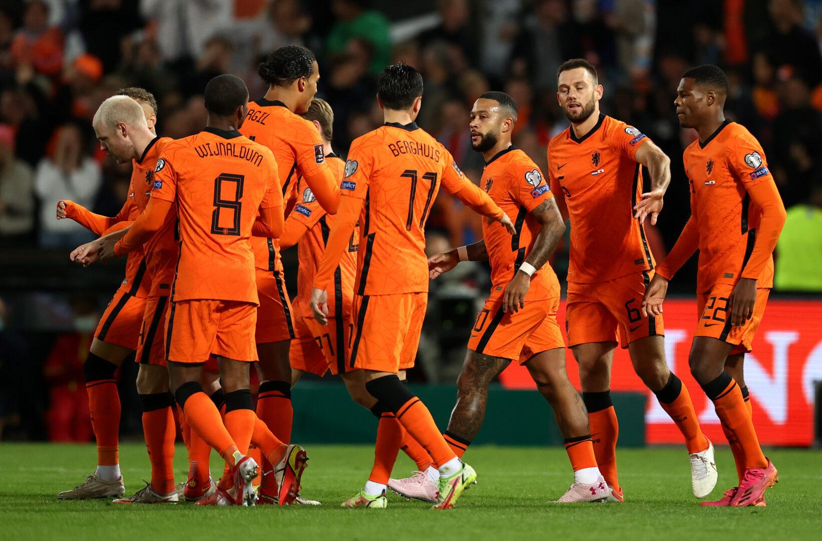 Die Niederlande feierte in der WM-Qualifikation einen souveränen Sieg über Gibraltar.