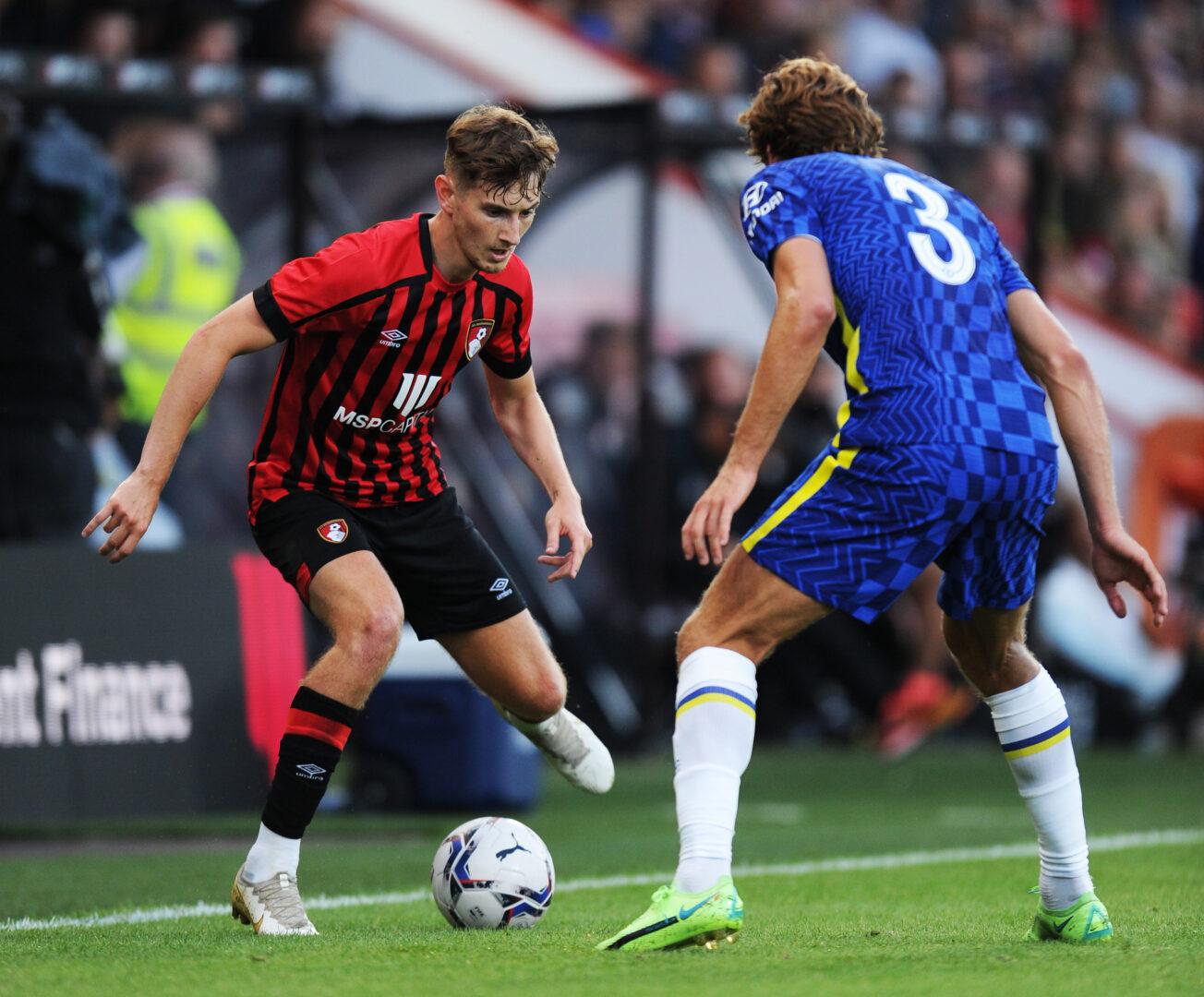 Bournemouth-Profi David Brooks hier im Carabao Cup gegen Chelsea