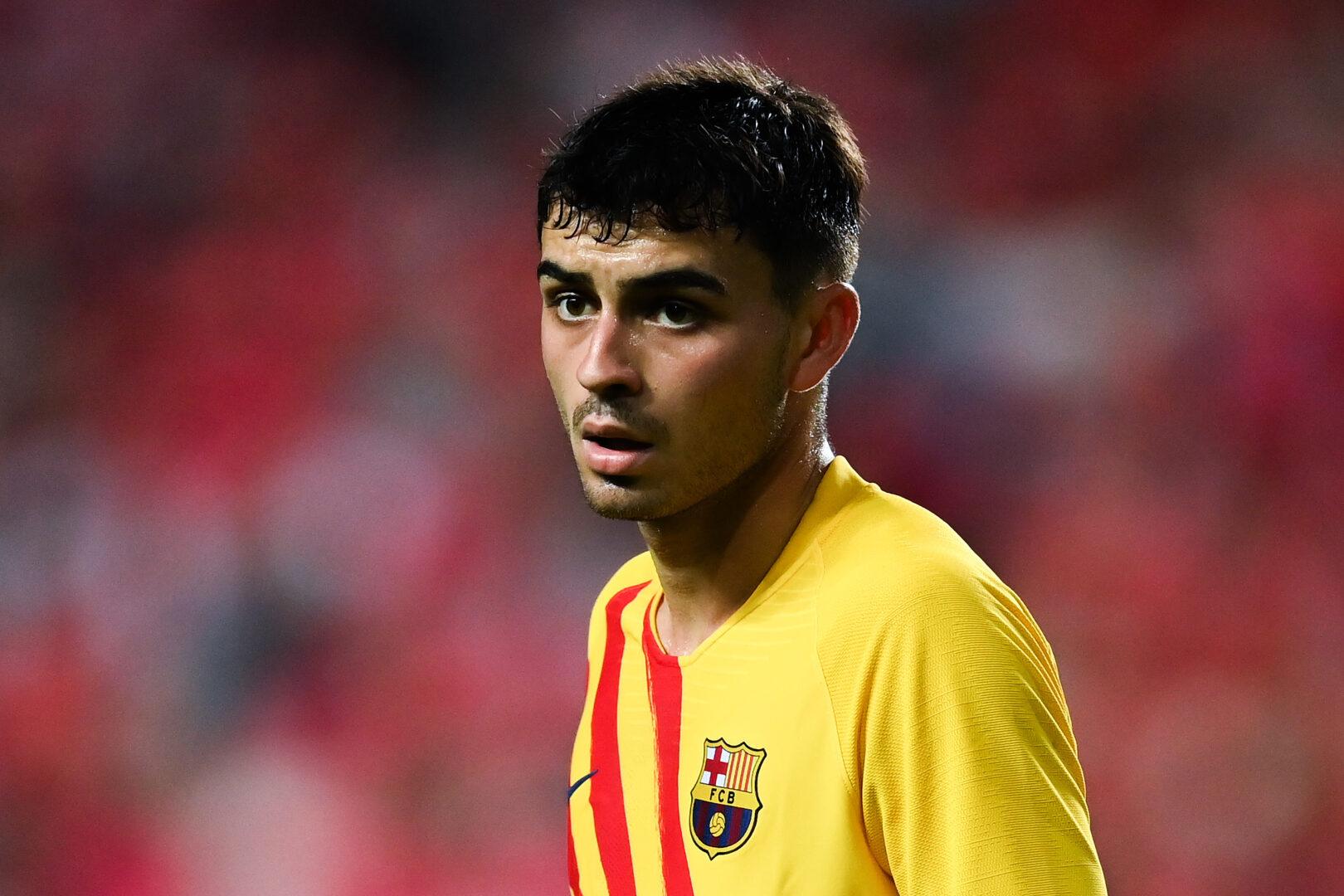 Pedri im Dress des FC Barcelona
