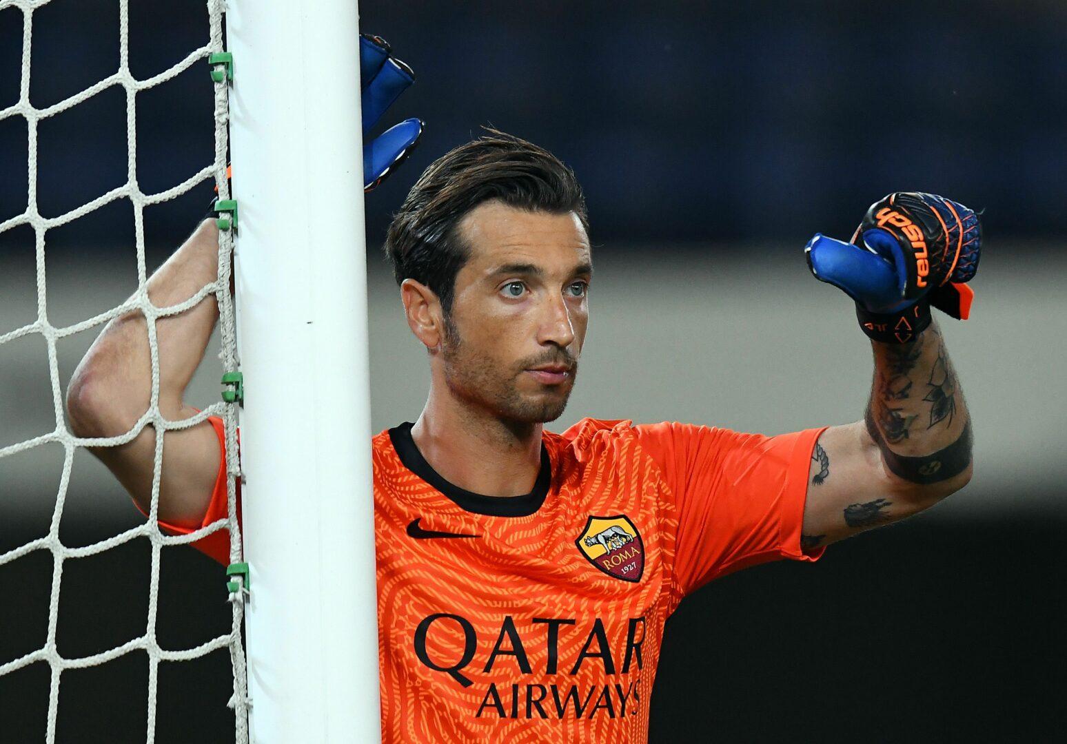 Antonio Mirante im Einsatz für die AS Roma.