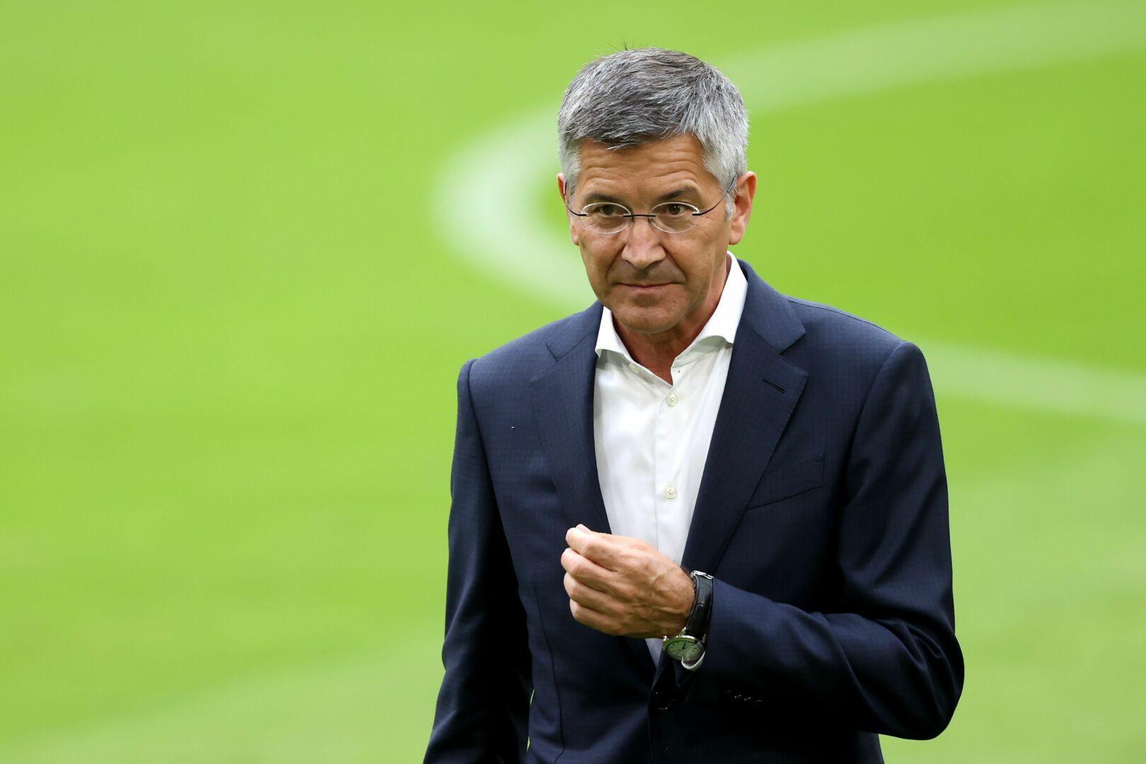FC-Bayern-Präsident Hainer äußerte sich zu Erling Haaland
