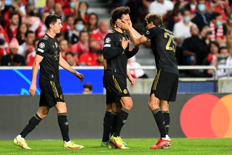 Champions League | Sané glänzt bei Bayerns später Gala