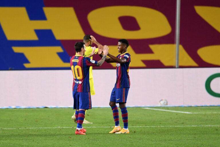 """Ansu Fati der Messi-Nachfolger? """"Niemand wird wie Leo sein"""""""