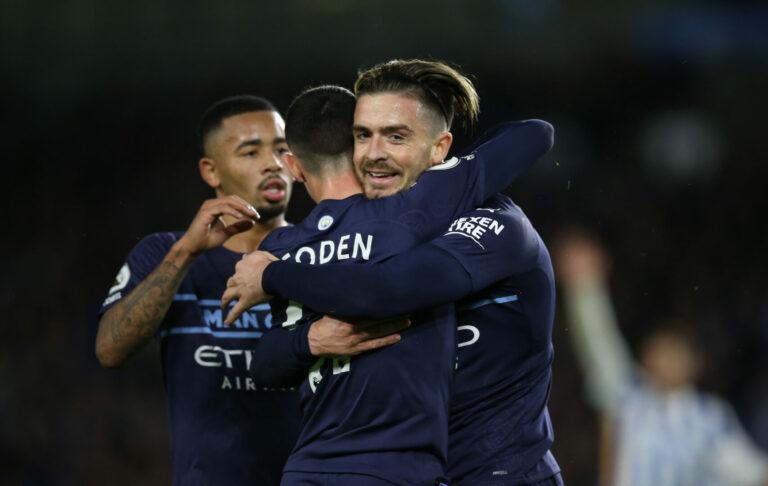 Dank furioser erster Halbzeit: Manchester City gewinnt souverän in Brighton