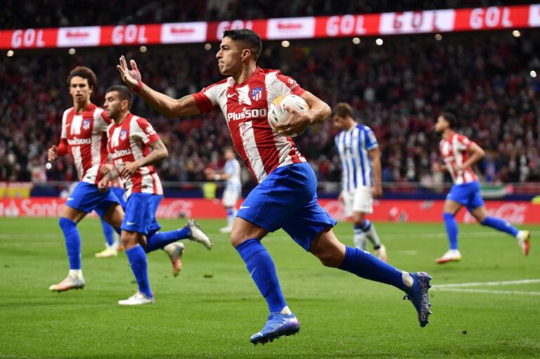 Luis Suarez sichert Atletico einen Punkt gegen Real Sociedad