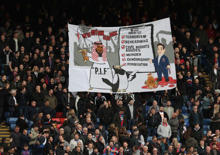 Crystal Palace | Keine Polizei-Maßnahmen nach Newcastle-kritischen Banner