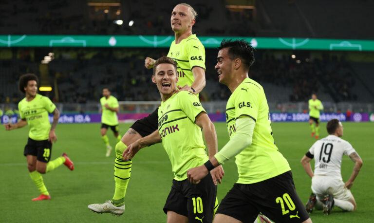Hazard als Matchwinner: BVB schlägt Ingolstadt und steht im Pokal-Achtelfinale!