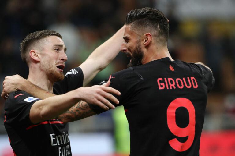 Matchwinner Giroud: Milan springt an die Spitze der Serie A!